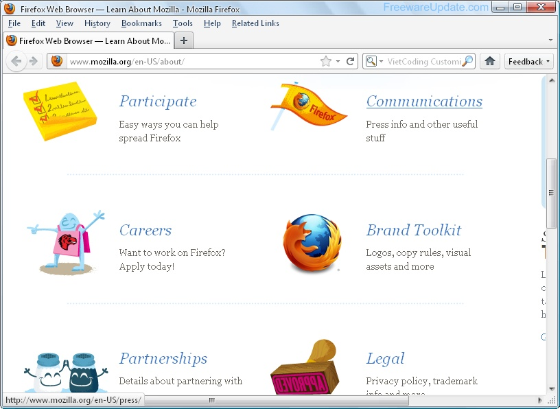 Download Firefox 20 Beta for Mac 2014