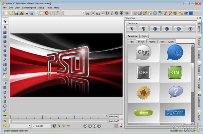 ����� ������ Aurora 3D Animation Maker 13.01.04 ����� ����� �������� ������� ���������