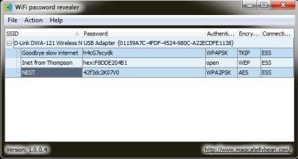 ����� ����� ������ ����� ���� ���� �� ������� ������ WiFi password revealer 1.0.0.5