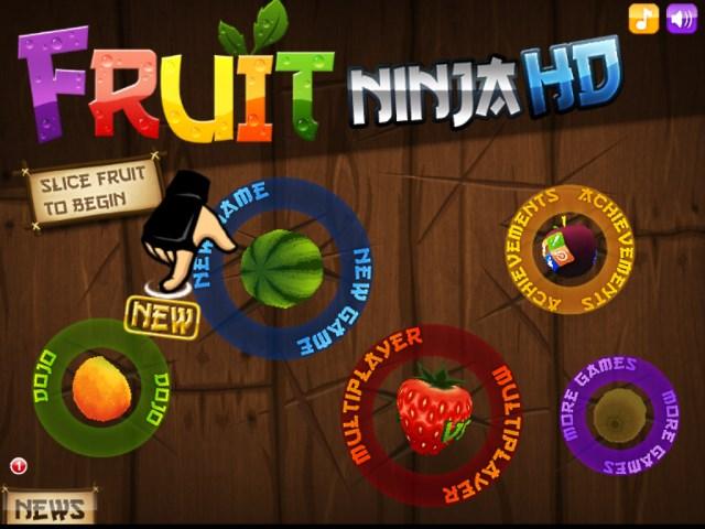 حصريا لعبة فروت نينجا للاندرويد للكمبيوتر والاندرويد والايفون مجانا Fruit Ninja 2014