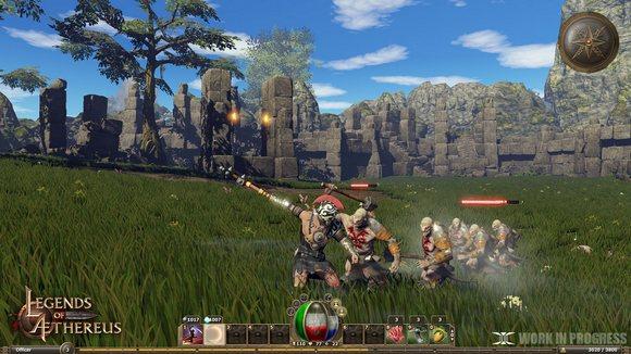 تحميل لعبة الاكشن والمغامرات Legends of Aethereus كاملة 2014 , العاب كمبيوتر 2014