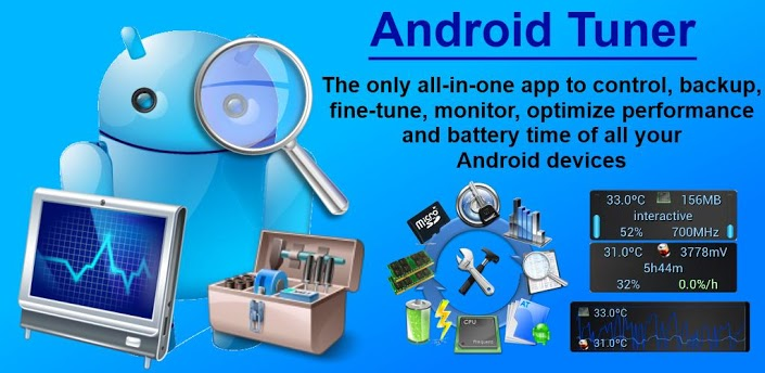 ����� ����� Android Tuner v0.10.3 APK ������� ������� 2014
