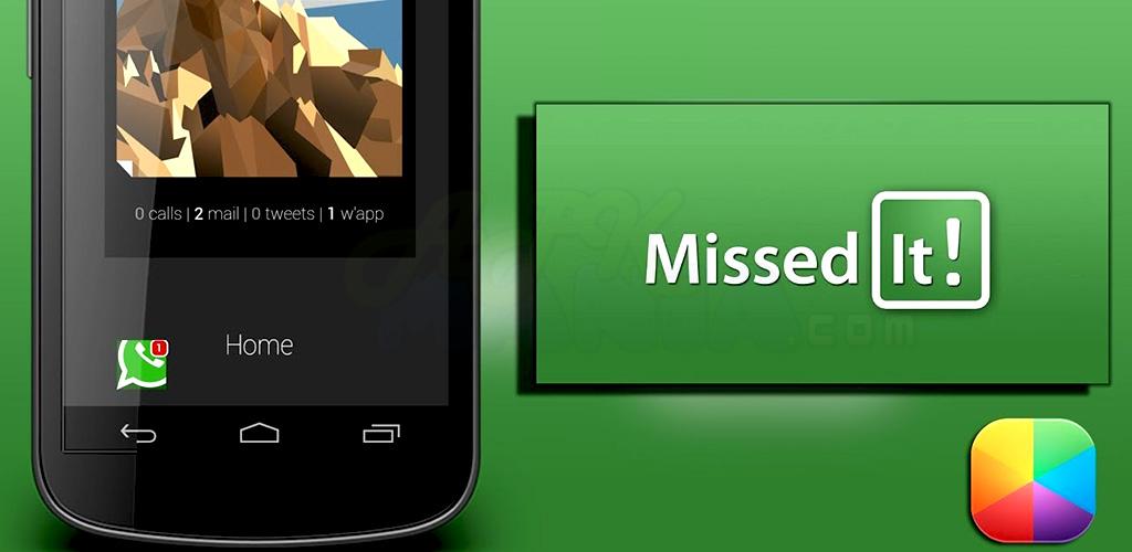 تحميل تطبيق Missed It! v4.1.10 APK تطبيقات اندرويد 2013