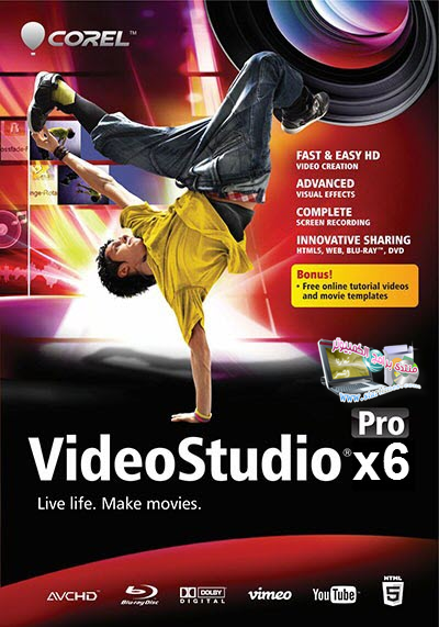 ����� ������ Corel VideoStudio Pro X6 2014 ����� ������ � ����� ������� download Corel VideoStudio
