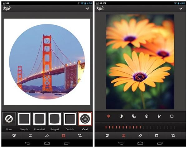 تطبيق Repix تحرير وتعديل الصور وإضافة مؤثرات تطبيقات اندرويد 2014