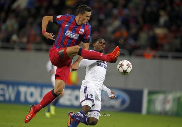 ملخص و تفاصيل و تقرير , نتيجة مباراة تشيلسي و ستيوا بوخارست في دوري ابطال اوروبا 1/10/2013