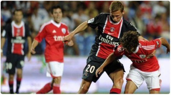 يوتيوب اهداف مباراة باريس سان جيرمان و بنفيكا في دوري ابطال اوروبا اليوم الاربعاء 2-10-2013