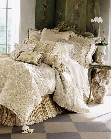 صور سراير نوم جميلة 2014 , صور اجمل مفارش سرير للعرايس 2014