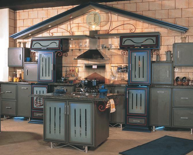 صور دهانات مطابخ خشبية 2018 Wooden kitchens