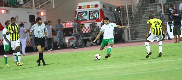 نتيجة مباراة الاهلي والاتحاد في الدوري السعودي اليوم الجمعة 4-10-2013