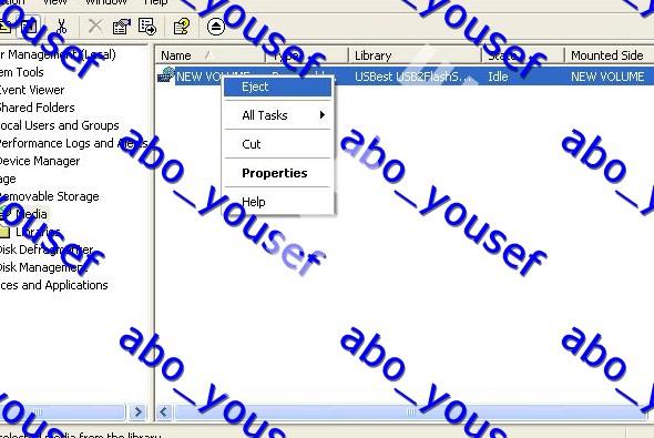 شرح فرمتة الفلاشه المحميه ضد الكتابة بدون برامج
