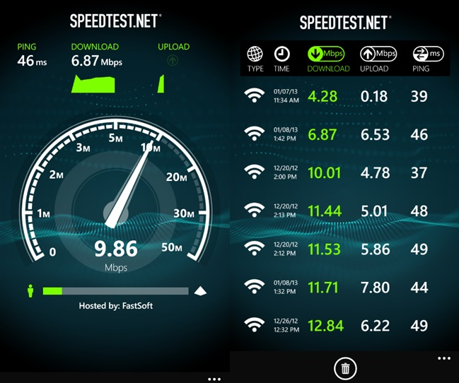 تنزيل برنامج download Internet Speed For Android 1.1