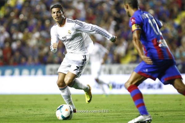 تفاصيل نتيجة مباراة ريال مدريد وليفانتي في الدوري الاسباني اليوم السبت 5-10-2013