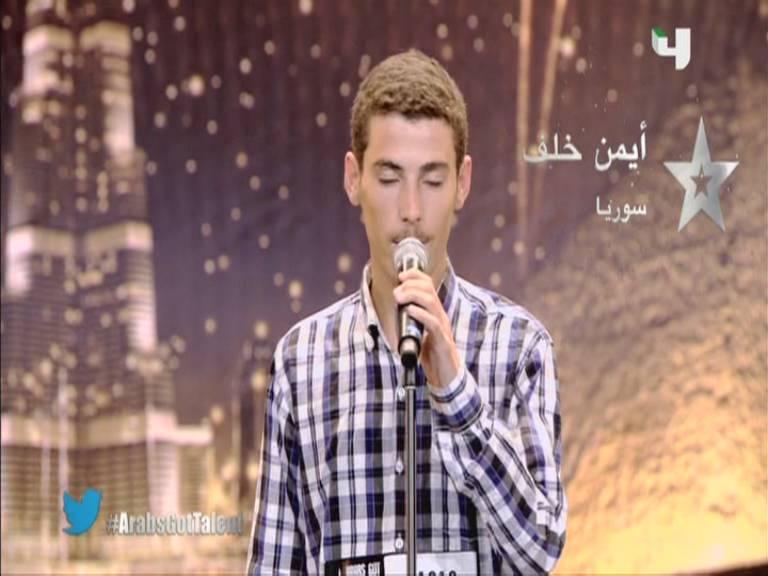 يوتيوب اداء أيمن خلف - سوريا - أرب قوت تالنت - 3 Arabs Got Talent السبت 5-10-2013