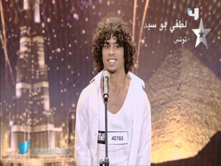 يوتيوب أرب قوت تالنت 3 لطفي بوسيدرا - تونس - 3 Arabs Got Talent السبت 5-10-2013