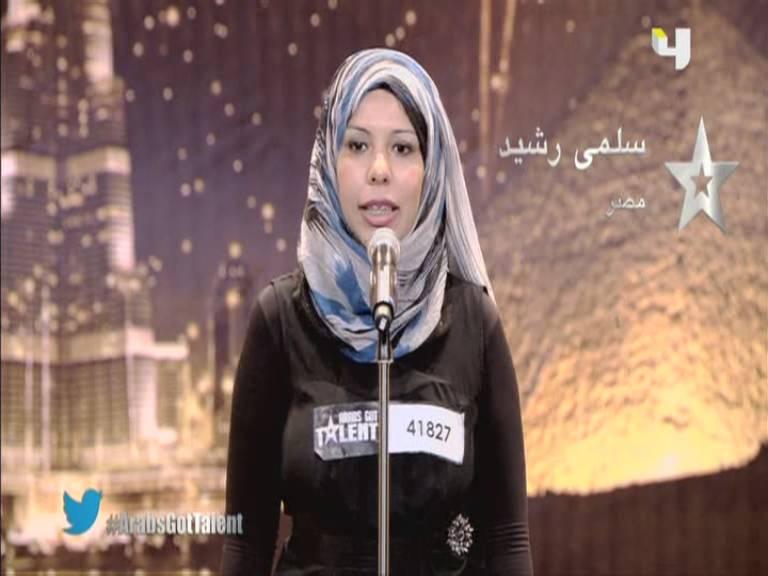 يوتيوب أرب قوت تالنت سلمي رشيد - مصر - 3 Arabs Got Talent السبت 5-10-2013