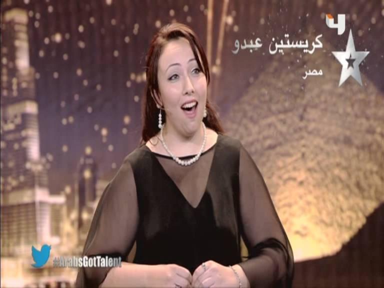 يوتيوب أرب قوت تالنت كريستين عبدو - مصر - 3 Arabs Got Talent السبت 5-10-2013