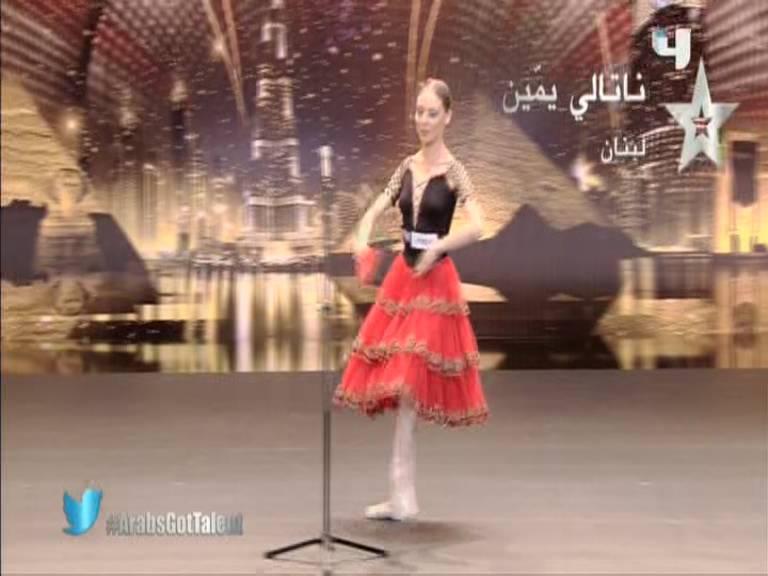 يوتيوب أرب قوت تالنت 3 ناتالي يمين - لبنان - 3 Arabs Got Talent السبت 5-10-2013