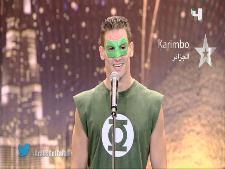 يوتيوب أرب قوت تالنت karimbo - الجزائر - كريمبو - 3 Arabs Got Talent السبت 5-10-2013