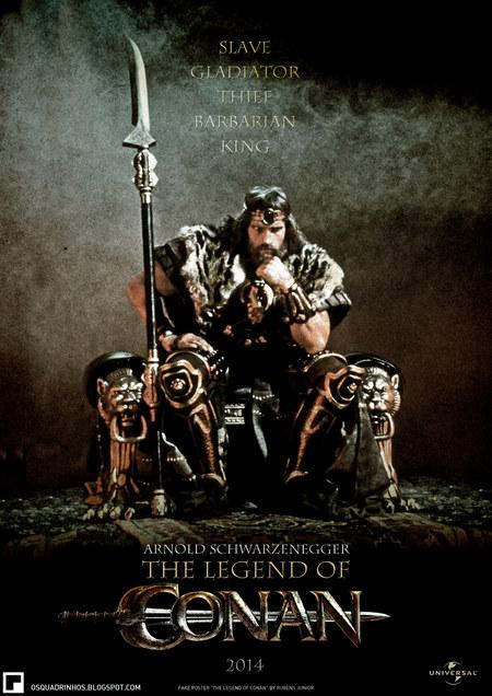 صور بوستر فيلم كونان 2013 The Legend of Conan