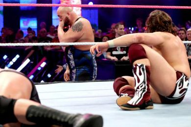مهزلة كبيرة في نهاية عرض WWE Battleground