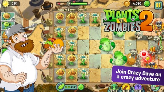 تحميل لعبة Plants vs Zombies 2 اندرويد 2013