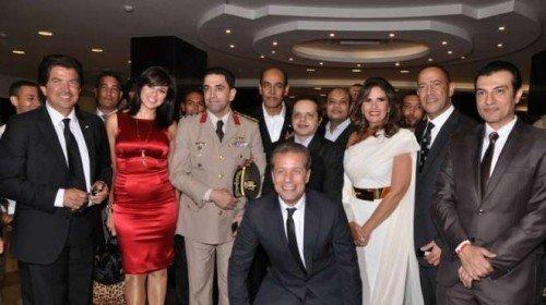 صور ياسمين عبد العزيز مع المتحدث العسكري على الفيس بوك 2014 , صور ياسمين عبد العزيز 2014