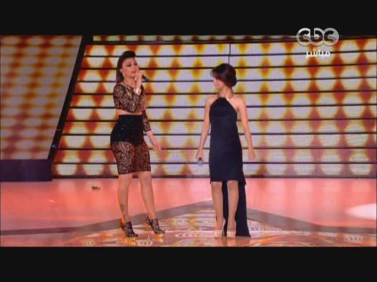 يوتيوب اغنية بايظة هيفاء وهبي و رنا سماحه ستار اكاديمي 9 Star Academy اليوم الخميس 10-10-2013