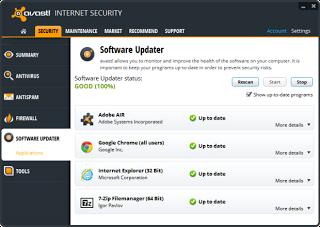 ����� ��������� ����� ������ avast! Free Antivirus 2014 9.0.2005