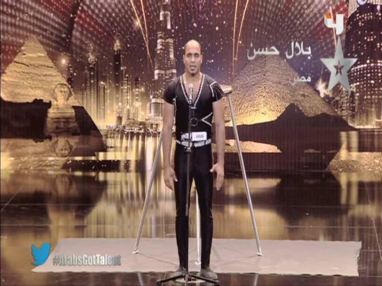 يوتيوب اداء بلال حسن 12-10-2013 , السيرك أرب قوت تالنت 2013 - 3 Arabs Got Talent السبت 12-10-2013