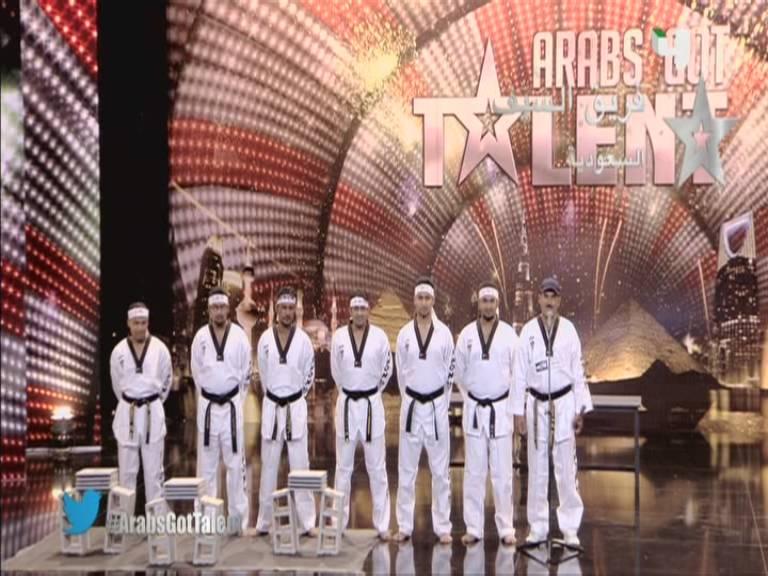 اداء فريق السيف - السعودية - أرب قوت تالنت 3 - 3 Arabs Got Talent السبت 12-10-2013