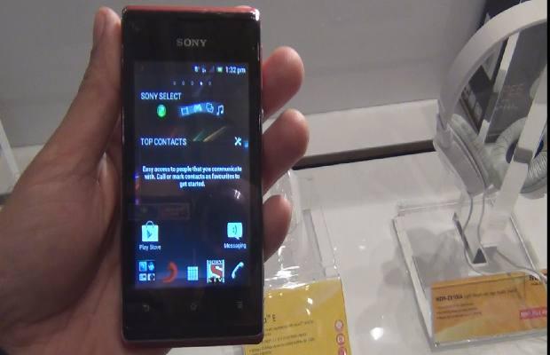 موصفات جوال صوني اكسبيريا 2013 , Sony Xperia E dual 2013