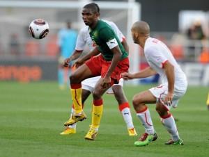 نتيجة مباراة تونس و الكاميرون في تصفيات كاس العالم اليوم الاحد 13-10-2013