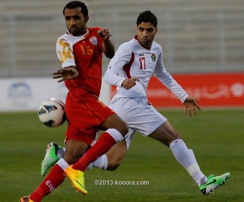 نتيجة مباراة الاردن و عمان في تصفيات كاس امم اسيا اليوم الثلاثاء 15-10-2013