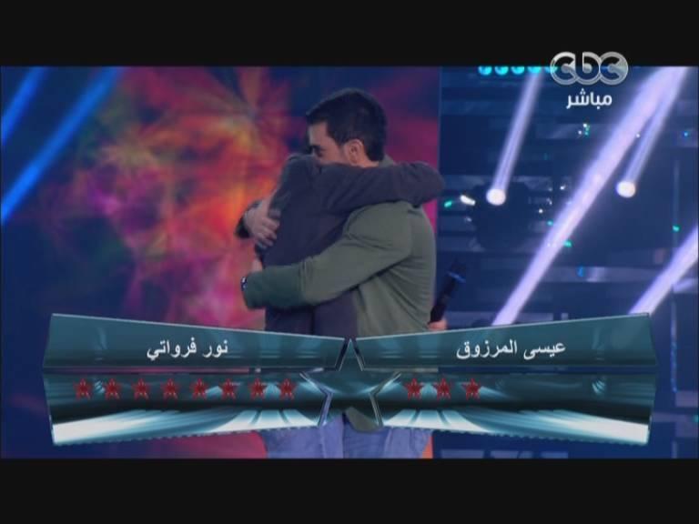 خروج عيسي المرزوق من الكويت في ستار اكاديمي 9 Star Academy اليوم الخميس 17-10-2013
