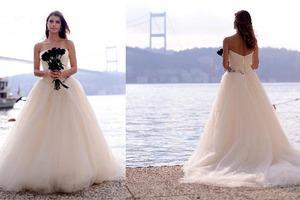 صور بيرين سآت بفستان الزفاف , صور بيرين سآت بفستان الفرح 2014