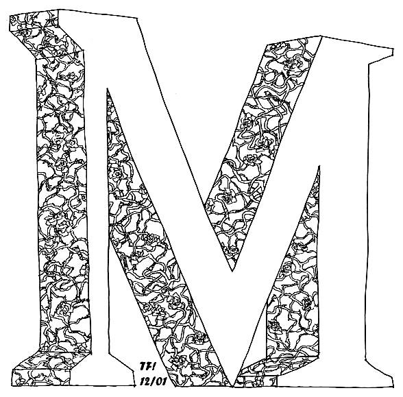 صور حرف M , خلفيات حرف m مزخرفة , صور حرف ام بالانجليزي رومانسي
