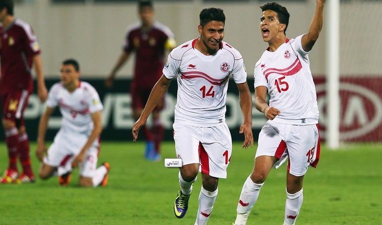 ملخص وتقرير عن نتيجة مباراة تونس و فنزويلا في كاس العالم للناشئين اليوم الجمعة 18-10-2013
