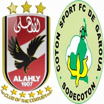 موعد مباراة الأهلي و القطن الكاميروني في دوري ابطال افريقيا يوم الاحد 20-10-2013