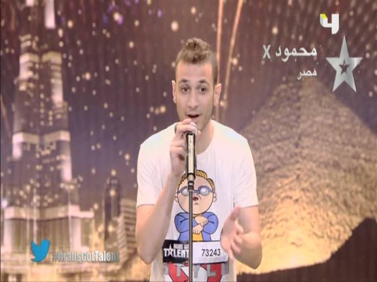 يوتيوب اداء محمود اكس x - مصر- أرب قوت تالنت - Arabs Got Talent السبت 19-10-2013