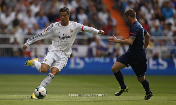 نتيجة مباراة ريال مدريد وملقا في الدوري الاسباني اليوم السبت 19-10-2013