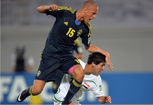 نتيجة مباراة العراق و السويد في كاس العالم للناشئين اليوم السبت 19-10-2013