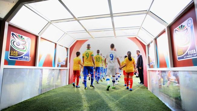 مباراة الإمارات والبرازيل في كاس العالم للناشئين اليوم الاحد 20-10-2013