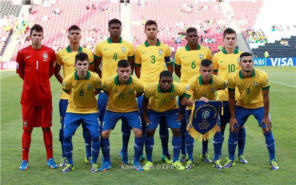 توقيت مباراة الإمارات و البرازيل في كاس العالم للناشئين اليوم الاحد 20-10-2013