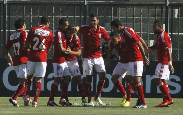 نتيجة مباراة الاهلي المصري و القطن الكاميروني اليوم الاثنين 20-10-2013