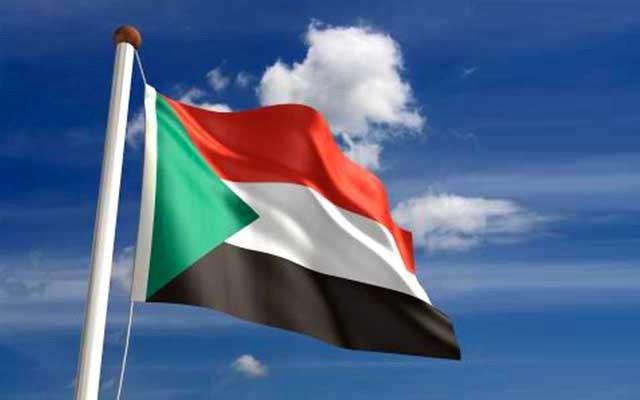 خلفيات متحركة علم السودان 2018 ,flag of Sudan