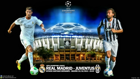 Real Madrid vs Juventus UEFA Champions League 23/10/2013