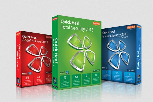 للحماية الكاملة من الفيروسات والتجسس بجميع اصداراته download Quick Heal 2014