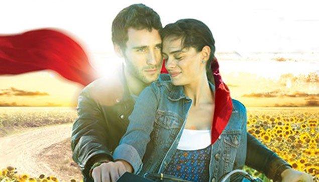 صور الياس و اسيا ابطال مسلسل الوشاح الاحمر 2014 , صور رومانسية اسيا و الياس 2014