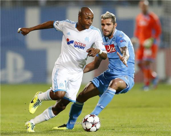 نتيجة مباراة نابولي و مارسيليا في دوري ابطال اوروبا اليوم الثلاثاء22-10-2013